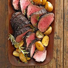 Coffee-Crusted Beef Tenderloin When it's time to pull out all the stops, you can always count on beef tenderloin to impress. Better yet, to bring the classic up to date, try a coffee-crusted beef tenderloin.