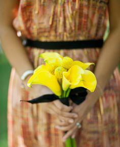 Bridesmaid Bouquet // // Photography: Mi Bella, Westlake Village, CA