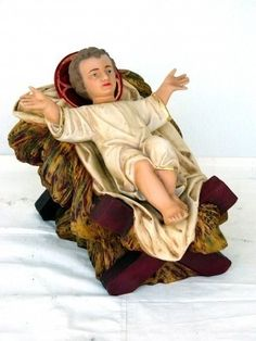 Fantástica réplica del niño Jesús para decorar pesebres en Navidad Baby Jesus, Christmas Balls, Infant, Nativity Sets, Christmas Decor, Baby, Infants, Infancy, Kid