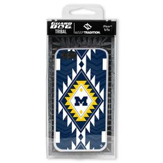 Michigan Wolverines Paulson Designs Tribal Case for iPhone® 5/5s-MobileMars