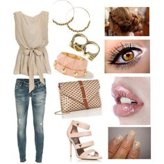 """Easy date night..."" by threadinducedeuphoria on Polyvore"