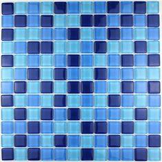 carrelage salle de bain mosaique douche cuisine gloss suki mosaique bleu pinterest cuisine. Black Bedroom Furniture Sets. Home Design Ideas