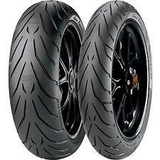 PAIR 120/70ZR17 58W TL F & 180/55ZR17 73W TL R Pirelli Angel GT