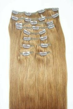 "16 Pieces 210 Grams Thick 100% Human Hair Extensions 20"" Long #6 Ash Brown by MyLuxury1st. $164.00. Message MyLuxury1st with any questions, always happy to answer and I reply right away."