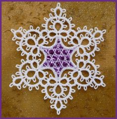 Marian Eckert turned my tatting designs into gorgeous machine embroidery patterns. I love what she did!