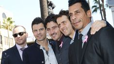 PHOTO: Joey McIntyre, Jonathan Knight, Jordan Knight, Donnie Wahlberg and Danny Wood of New Kids On the Block receive a star on The Hollywood Walk of Fame on Oct. 9, 2014 in Hollywood, Calif.