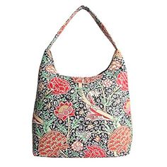 Signare Womens Tapestry Fashion Shoulder Bag/ Hobo Bag in William Morris The Cray Design