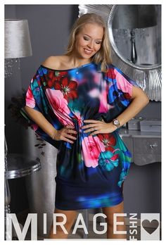 Ez a Mirage Lédra virágos megkötős tunika olyan, mint egy tavaszi virágcsokor! Rendelj belőle Te is, dob fel a hétköznapokat! #nőiruha #nőiruhawebáruház #nőiruharendelés Dob, Lily, Fashion, Tunic, Moda, Fashion Styles, Orchids, Fashion Illustrations, Lilies