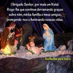 """Acesse: """"Oração diante do Presépio"""" (completa, com link do vídeo) #Natal Movies, Movie Posters, Chutney, Link, Christmas, Thank You Lord, Daughter Of God, Happy New Year, Jesus Is"""