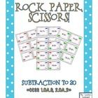 """This product is an exciting subtraction twist on the """"Rock, Paper, Scissors"""" hand game.  It is aligned with Common Core Standards for 1st/2nd grade..."""