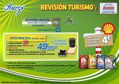 Oferta Rebajas (13 de enero al 06 de marzo 2015) - Revision Intermedia (cambio del filtro de aceite y filtro de aire). Más información en www.aurgi.com/