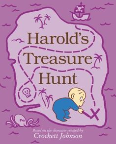 Harold's treasure hunt by Crockett Johnson. (New York, NY : Harper, an imprint of HarperCollins Publishers, [2020]). National Book Store, Purple Crayon, Finding Treasure, Book Activities, Activity Books, Learn To Read, Nursery Rhymes, Sea Creatures, Smurfs