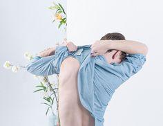 Photography: Matin Zad Art direction: gg-ll Stylist: Raul Guerrero Groomer: Chifumi Nambashi + Ryuta Tanaka Models: Aaron Chisum @ Request + Matthew Uebbing @ Red