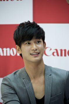 Kim Soo Hyun at Canon Fan Signing Event #1 #KimSooHyun #SooHyun #Canon