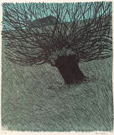 'Winter Tree (Morning)' by Robert Tavener