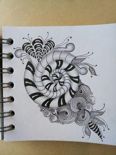 Zentangle Drawings, Mandala Drawing, Doodles Zentangles, Doodle Drawings, Doodle Patterns, Zentangle Patterns, Zen Doodle, Doodle Art, Clay Stamps