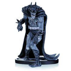 Batman Black and White Zombie Statue