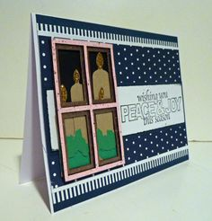 Window frame card
