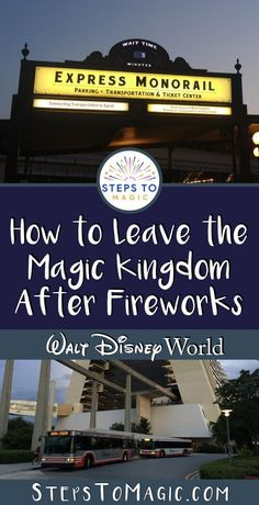 Fireworks at the Magic Kingdom are absolutely breathtaking and magical! But as soon as the last mortar is shot into the sky.you and a sea of guests surrounding you on Main Street USA go from… Magic Kingdom Fireworks, Magic Kingdom Tips, Disney World Tips And Tricks, Disney Tips, Disney Stuff, Disney Magic, Walt Disney World Vacations, Disney Parks, Disney Bound