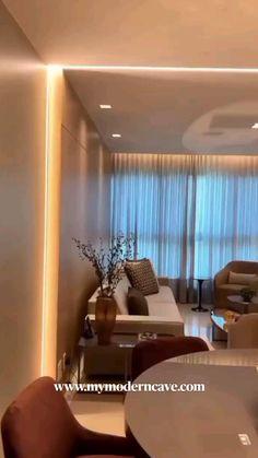 Living Room Partition Design, Ceiling Design Living Room, Decor Home Living Room, Home Room Design, Living Room Colors, Living Room Designs, Living Room Tv, Baby Room Decor, Diy Home Decor