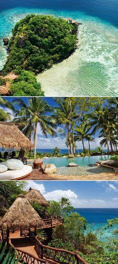 Laucala Island, Fiji, for your exotic retreat!