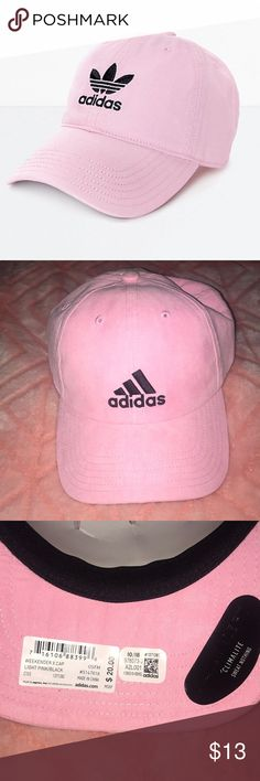 3cef106434a Shop Women s adidas Pink size OS Hats at a discounted price at Poshmark.  Description  Brand new with tags CLIMALITE Adidas pink hat - Adjustable -  soft thin ...
