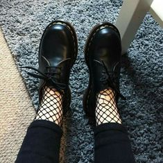 Fishnet and dr Martens  is perfect Combo