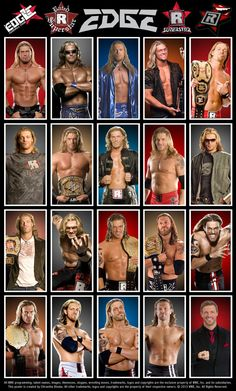 Edge how he evolved through the years