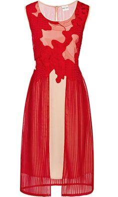 Reiss Mesh Bodice Dress, £189