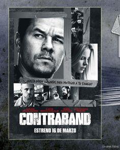 Entradas de cine gratis para ver Contraband de Mark Wahlberg