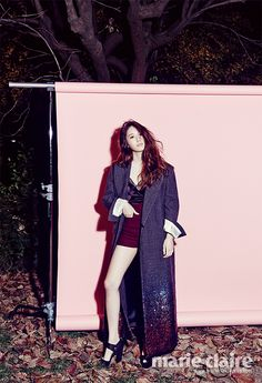 f(x)'s Krystal Marie Claire Korea Magazine December 2013 Issue