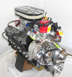 Ford 347 Stroker with the New Atomic EFI  http://enginefactory.com/msdefi.htm  Worlds Leading in Turn Key Muscle Car Engines