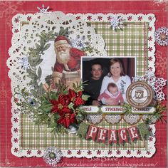 I'm here today to share a couple more layouts I created for My Creative Scrapbook with the amazing Main Kit.You can see the full. Christmas Scrapbook Layouts, Scrapbook Designs, Scrapbook Sketches, Scrapbook Page Layouts, Scrapbook Paper Crafts, Baby Scrapbook, Scrapbook Albums, Scrapbook Cards, Christmas Templates