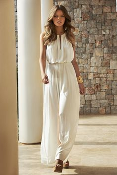 "Melissa Odabash 2015 Collection - ""Rachel"" - Long Dress - www.odabash.com"