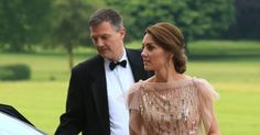 It was a glittering evening at Houghton Hall , as the long-awaited gala dinner 'A Taste of Norfolk' got underway with special guests the Duk...