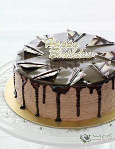 This sumptuous chocolate mousse cake is a wonderful dessert that is fit for birthdays or any special occasions. The chocolate chiffon cake is soft and light. It has 3 layers of chocolate mousse, a spread of ganache cream on top, and is also flavoured with kahlua liqueur. I'm sure your guests will ask for a …
