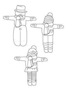 Ice cream skiers | krokotak
