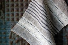 Birch Sauna handwoven linen and hemp wash cloth by avalanchelooms