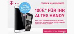 Telekom Alt gegen Neu Aktion mit 100€ Bonus http://www.simdealz.de/telekom/alt-gegen-neu-aktion/