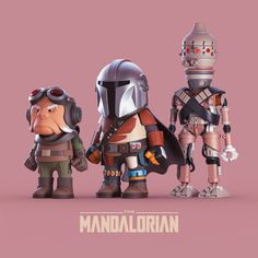 The Mandalorian on Behance Game Character Design, 3d Character, Robot Design, 3d Design, Arte Nerd, The Force Is Strong, Vinyl Toys, Mandalorian, Zbrush