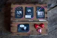 Chalkboard Valentine's from Jamie Schultz Designs. don't u have a chalkboard category?