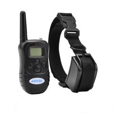 AGPtek® Rechargeable Wireless LCD digital dog Training Shock collar with 100LV of Shock and Vibration, Remote Control