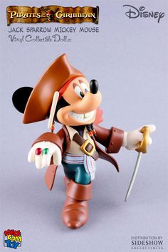 Jack Sparrow Mickey Mouse