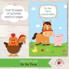 On the Farm Lesson Plans by Busy Little Bugs