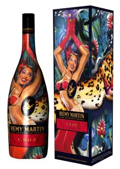 Remy Martin VSOP limited edition for our liquor loving peeps. What great imaging.
