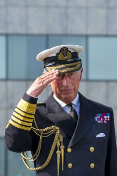 Prince Charles, Prince of Wales visits HMS Duncan in Roath Basin, Cardiff Docks in Cardiff, Wales. HMS Duncan is a Royal Naval Destroyer which is docked in Cardiff as part of the NATO summit - September 2014