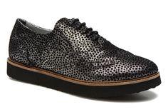 Ippon Vintage Andy Black (Argent) - Chaussures à lacets chez Sarenza (226726)