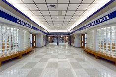 Lebanon High School, Terrazzo Tile, Logo, School Flooring, Floor Design
