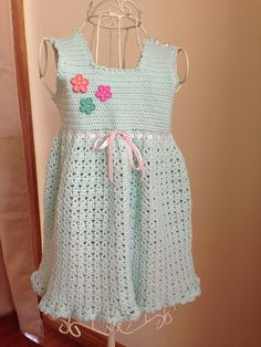 Ravelry: KirstenLouise1's Olivia's Sundress; link to pattern