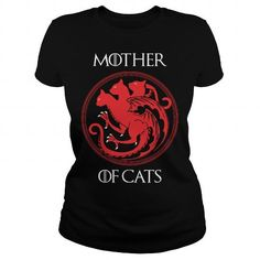 I Love MOTHER OF CATS Shirts & Tees